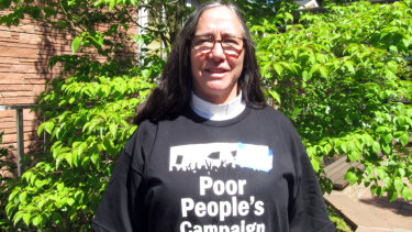 Reverend Lynne Smouse Lopez has been working with disadvantages people for 30 years.