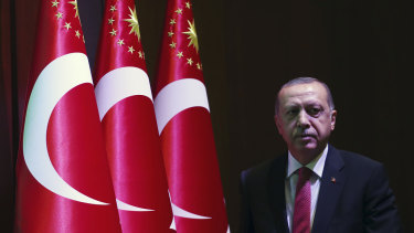 Turkey's President Recep Tayyip Erdogan has broken his silence.