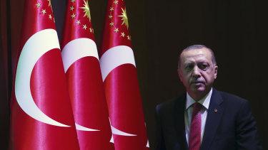 Following the case: Turkey's President Recep Tayyip Erdogan.