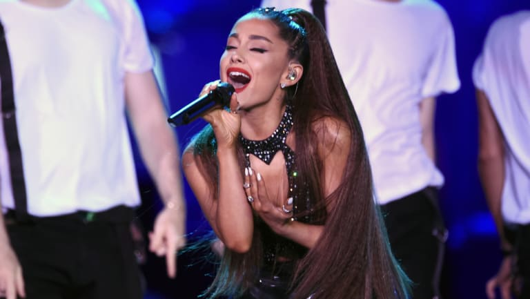 "Canberra says ""thank u, next"" to most streamed global female artist Ariana Grande."
