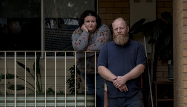 The home of Emily Paterson and Peter Stahlberg is among 36 being acquired to make way for the North East Link. But the couple say the road needs to be built.