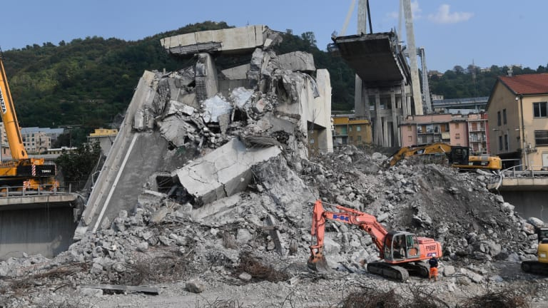The death toll in Tuesday's collapse rose to 43 with confirmation the bodies of three family members were the last of the reported missing people.