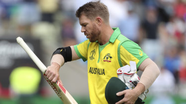 David Warner has recorded a half-century in his first red-ball game since the infamous Cape Town Test.