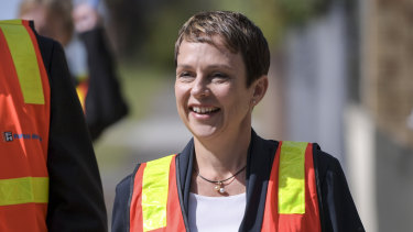 Acting Transport Infrastructure Minister Jaala Pulford.