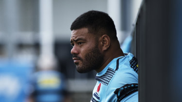 Drama: The Waratahs were fuming that Tolu Latu failed to tell them about a drink-driving allegation.