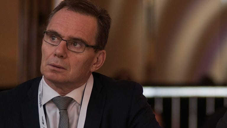 BHP Billiton CEO Andrew Mackenzie called the tariffs an attempt to hide behind trade barriers.