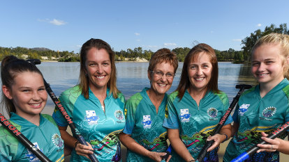 'It's dead serious': grandmother slays 'em at dragon boat racing
