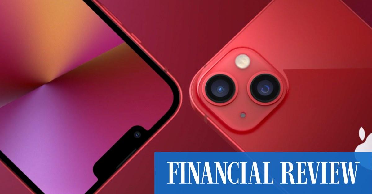 Apple iPhone 13: a little bit better in an in-between year - The Australian Financial Review