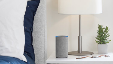 Amazon's Echo waits for a 'wake word' before it begins recording.