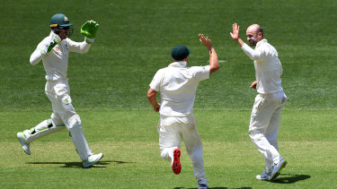 Lyon collected 21 wickets against India two summers ago and is eager for more.