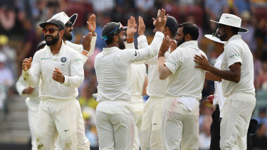 India enjoy claiming another Australian scalp on day four in Adelaide.