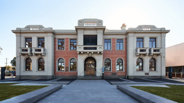 The restoration of the Williamstown Town Hall was overseen by K20 Architecture.