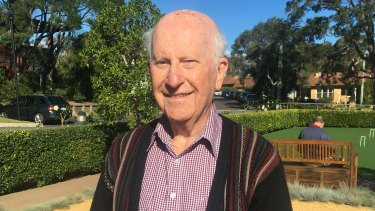 """This needs to be resolved once and for all"": David Allcroft, head of the RSL ANZAC Village residents' committee."
