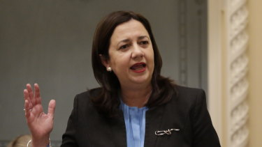 Premier Annastacia Palaszczuk confirmed the existence of the stacia1@bigpond.com account during a budget estimates hearing in December.