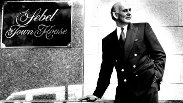 Michael Hall, MD of the Sebel Town House, December 20, 1991.