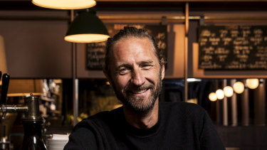 Justin Hemmes now owns 73 venues in Sydney.