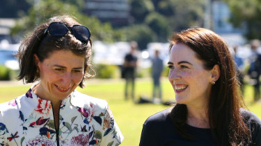 North Shore MP Felicity Wilson, photographer with Premier Gladys Berejiklian, faced a challenge for the Liberal nomination in her seat from Tim James.