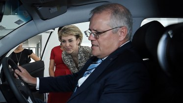 Scott Morrison isn't driving a policy on electric vehicles.