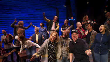 Come From Away's 2020 cast.