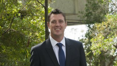 Northern Beaches mayor Michael Regan has managed to reduced waste management charges for some ratepayers by introducing smaller bins.