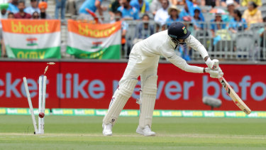Marching orders: Lokesh Rahul has been sent back to India alongside teammate Hardik Pandya.