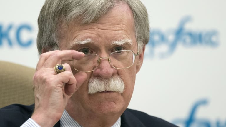 US National security adviser John Bolton has taken a hawkish line on North Korea in the past.