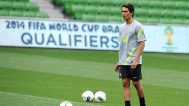 Fit again: Former Socceroo Adam Sarota is back playing after a long and ugly injury layoff.