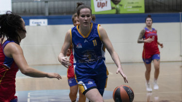 Keely Froling has been a star for the Canberra Nationals in the NSW Waratah League.
