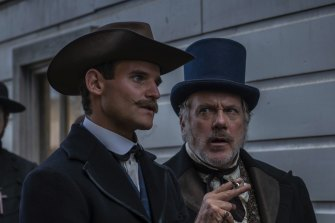 Erik Thomson plays a pimp in this BBC period drama set in the New Zealand goldfields.