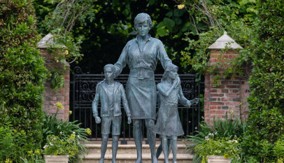Stiff and pompous: why Diana bronze statue is all wrong