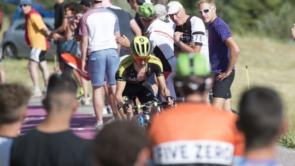 Double Tour heartbreak for Mitchelton-Scott team