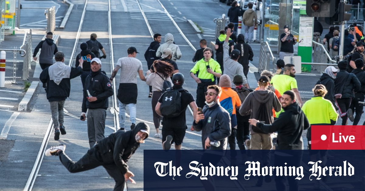 Australia news LIVE: Victoria begins earthquake cleanup as state records 766 new local COVID-19 cases; protests poised to continue; NSW cases grow