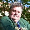 David Basell, 53, has lived a colourful life before finding a home at Wandana Flats in Subiaco, WA.