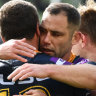 Stuttering Storm scramble to victory over Titans
