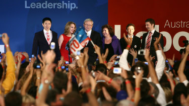 A federal Labor leader has not carried Queensland since the state's own Kevin Rudd in 2007.