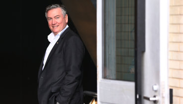 Eddie McGuire will be back in Nine's footy line-up in 2020.