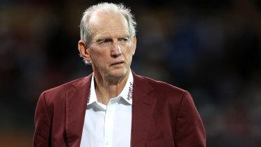 Returned Queensland coach Wayne Bennett.