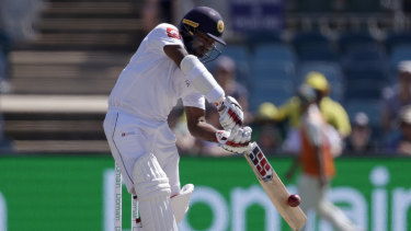 Remarkable: File photo of Kusal Perera, who has led Sri Lanka to a famous, improbable victory.