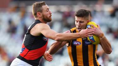 Experienced Hawk Luke Breust has signed on again with the club.