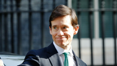 Rory Stewart, then-UK international development secretary, arrives for a weekly meeting of cabinet ministers at number 10 Downing Street in London.