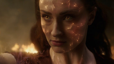 Sophie Turner listened to sad songs to help her prepare for the role of Dark Phoenix.