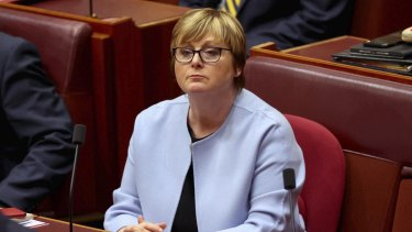 NDIS Minister Linda Reynolds has paused the implementation of independent assessments.