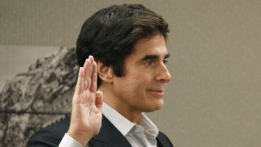 A lawsuit has not dampened magician David Copperfield's earnings.