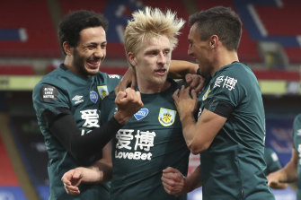 Ben Mee was on target for Burnley.