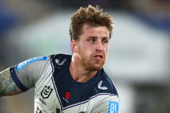 Cameron Munster spent the night in hospital on Monday for a knee infection.