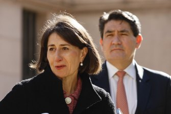 NSW Premier Gladys Berejiklian says she doesn't know how exactly many aged care workers have been vaccinated.