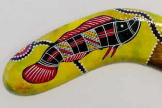 "Another of Birubi's ""Aboriginal"" souvenirs."