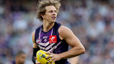 Nat Fyfe is on the hunt for a derby win and best on ground medal.
