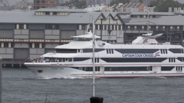 Captain Cook Cruises said they have worked with the RMS to develop a policy for the use of amplified music on vessels.