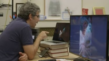 London surgeon David Nott teaches surgery via whatsapp and Skype to a hospital in Syria.